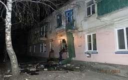 В квартире жилого дома произошел взрыв газа