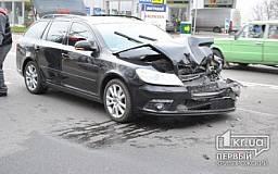 ДТП в Кривом Роге: «Volkswagen CC» и «Skoda Octavia» не разминулись на Объездной