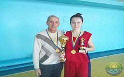 В Кривом Роге состоялся баскетбольный турнир среди школьниц