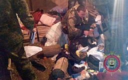 Криворожан, которые требуют освободить пленных бойцов АТО, задержали на редуте в Кривом Торце