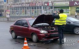 ДТП в Кривом Роге. Столкнулись Daewoo и Mercedes