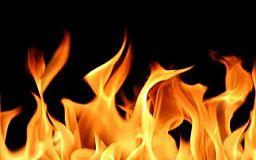 В Кривом Роге при  пожаре погиб пенсионер