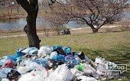 Водителей, которые везли в Кривой Рог львовский мусор, задержали полицейские