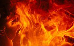 У Кривому Розі під час пожежі ледь не згоріла пенсіонерка