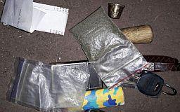 В Кривом Роге полицейские задержали подростков с наркотиками