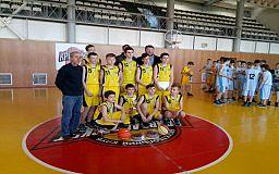 В Саксаганском районе Кривого Рога прошли соревнования по баскетболу
