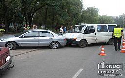 В Кривом Роге иномарка подрезала микроавтобус, - Свидетели событий