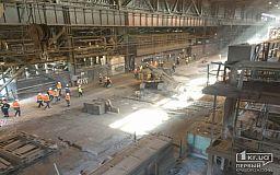 Криворожские металлурги в І-м полугодии снизили производство всех видов продукции