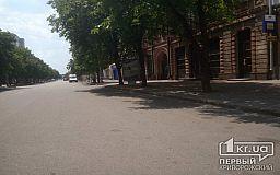 Копы Кривого Рога сдержали слово: проспект Почтовый на выходных - пешеходная зона