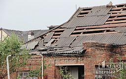 Из-за смерча люди остались без жилья в Кривом Роге