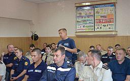 Борьба с коррупцией: в Кривом Роге совещались полицейские и спасатели