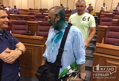 Колесник: Сегодня вся Украина имела возможность посмотреть на сепарский шабаш в Кривом Роге