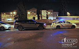 В Кривом Роге задержан выпившим водитель элитной иномарки