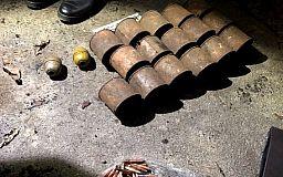 В Кривом Роге в лесополосе нашли схрон с боеприпасами