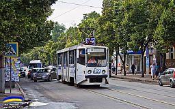 В Кривом Роге пустили 2 дополнительных трамвайных маршрута по выходным