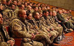 Мудрых командиров пожелал криворожской прославленной 17 ОТБр Народный Герой Украины