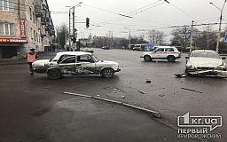 ДТП в Кривом Роге: водитель ВАЗ не проскочил