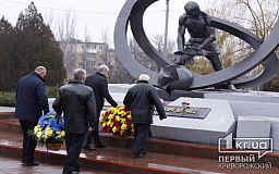 Криворожане почтили погибших ликвидаторов ЧАЭС