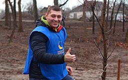 Суботник у Гданцівському парку Кривого Рогу: триста дерев та триста містян