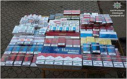 В Кривом Роге женщина продавала на улице сигареты без лицензии