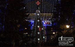 На ЮГОКе в Кривом Роге засверкали тысячи новогодних огоньков (ОБНОВЛЕНО)