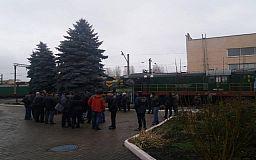 Криворожские железнодорожники временно прекратили движение на станциях