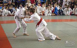 В Кривом Роге состоялся турнир по дзюдо среди школьников