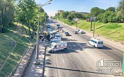 Пострадало 7 пассажиров. Масштабное ДТП в Кривом Роге