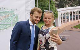 Нардеп Константин Усов презентовал проект реконструкции парка Гданцевский