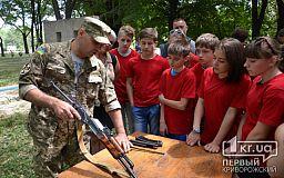 «Треба не лише плакати, а й виховувати дітей», - організатор військово-спортивної гри для дітей у Кривому Розі