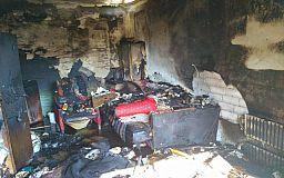 В Кривом Роге во время пожара погибла пенсионерка