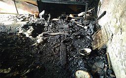 Спасти пенсионера во время пожара в Кривом Роге не удалось