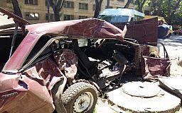 На Трампарке в Кривом Роге произошла жуткая авария
