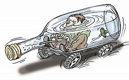807 криворожан нетрезвыми водили авто в городе