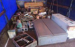 3 тонны металлолома без документов в Кривом Роге пытались провезти двое мужчин