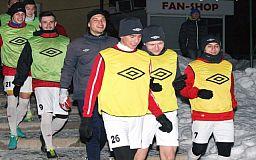 Криворожские футболисты «Горняка» сыграли с Александрией