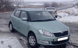 В Кривом Роге полицейские нашли угнанный автомобиль