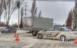 Приус патрульных полицейских и ГАЗ столкнулись в Кривом Роге (ОБНОВЛЕНО)