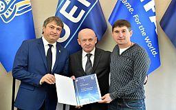 Тренер криворожского «Горняка» получил диплом УЕФА