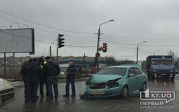В результате ДТП на Объездной дороге в Кривом Роге пострадала пассажирка