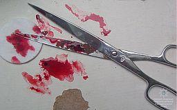 Во время застолья криворожанин 4 раза ударил знакомую ножницами в живот