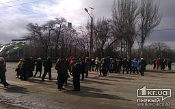 В Кривом Роге предприниматели перекрыли движение транспорта в центре города (ОБНОВЛЕНО)