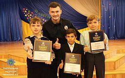 В Кривом Роге трое шестиклассников задержали преступника