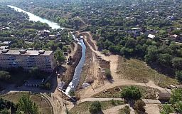 Масштабна реконструкція у Кривому Розі: з урочища балки Кандибіна вивезли сім тисяч тон мулу та 300 вантажівок сміття