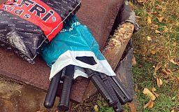 У криворожанки уважительного возраста полицейские изъяли модернизированные резиновые палки