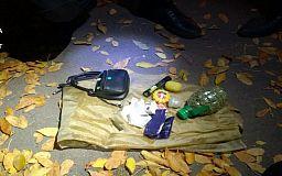 В Кривом Роге полицейские задержали мужчин с наркотиками и патроном