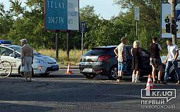 В Кривом Роге ДТП: на перекрестке не разминулись две машины