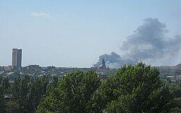 На территории Кривого Рога горит сухостой, - свидетели событий