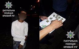 Нервного наркодилера поймали копы в Кривом Роге