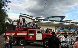В Кривом Роге меряются силой полисмены, пожарные и другие жители города
